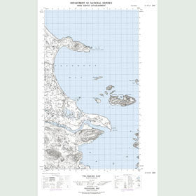 Canadian Topo Map - Trunmore Bay - Map 013H14E