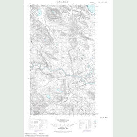 Canadian Topo Map - Trunmore Bay - Map 013H14W