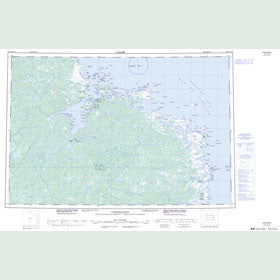 Canadian Topo Map - Cartwright - Map 013H