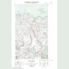 Canadian Topo Map - Tinker Harbour - Map 013I04E
