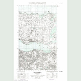 Canadian Topo Map - Tinker Harbour - Map 013I04W