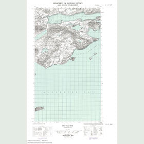 Canadian Topo Map - Pottles Bay - Map 013I05E