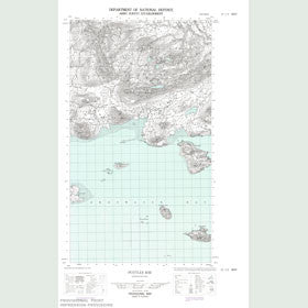 Canadian Topo Map - Pottles Bay - Map 013I05W