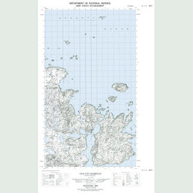 Canadian Topo Map - Holton Harbour - Map 013I11W
