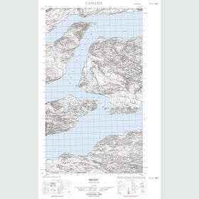 Canadian Topo Map - Rigolet - Map 013J01W