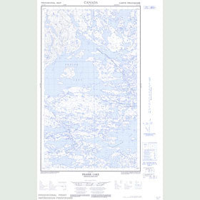 Canadian Topo Map - Fraser Lake - Map 013L05E