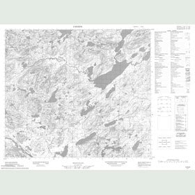 Canadian Topo Map - Map 013N06