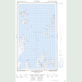 Canadian Topo Map - Ironbound Islands - Map 013O02W