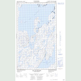Canadian Topo Map - Bay of Islands - Map 013O04E