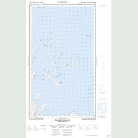 Canadian Topo Map - Double Islands - Map 013O05E