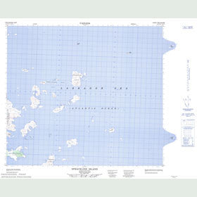 Canadian Topo Map - Spracklins Island - Map 014C02