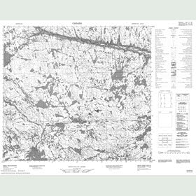 Canadian Topo Map - Map 014D12