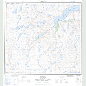 Canadian Topo Map - Map 014E15