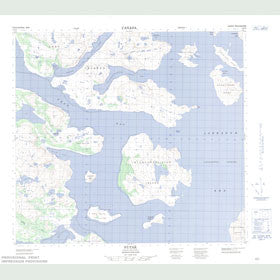 Canadian Topo Map - Nutak - Map 014F05