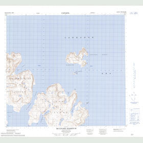 Canadian Topo Map - Mugford Harbour - Map 014F13
