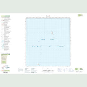 Canadian Topo Map - Lady Franklin Island - Map 015L13