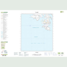 Canadian Topo Map - Cape Mercy - Map 016D13