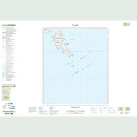 Canadian Topo Map - Leopold Island - Map 016D14