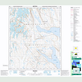 Canadian Topo Map - Map 016E12