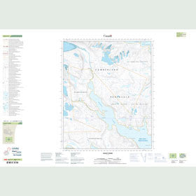 Canadian Topo Map - Ingnit Fiord - Map 016E15