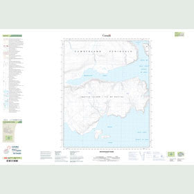 Canadian Topo Map - Mooneshine Fiord - Map 016K05