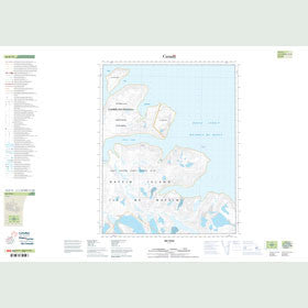 Canadian Topo Map - Map 016K13