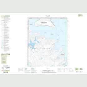 Canadian Topo Map - No Title - Map 016L01