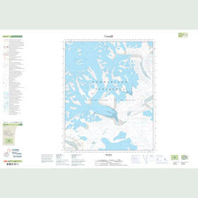Canadian Topo Map - Map 016L03