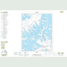 Canadian Topo Map - Map 016L04