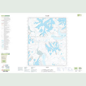Canadian Topo Map - Map 016L07