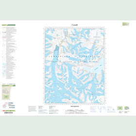 Canadian Topo Map - Inuk Mountain - Map 016L09