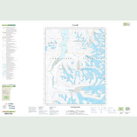 Canadian Topo Map - Centennial Ridge - Map 016L10