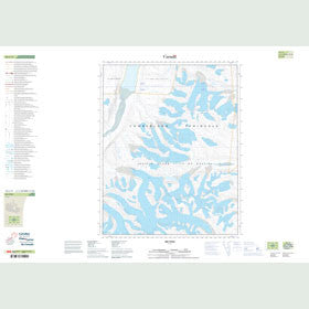 Canadian Topo Map - Map 016L11
