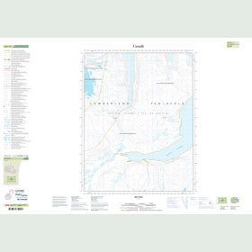 Canadian Topo Map - Map 016L13