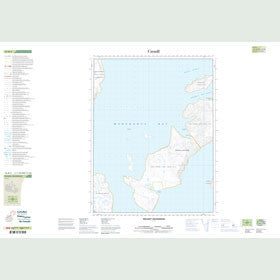 Canadian Topo Map - Delight Anchorage - Map 016M02
