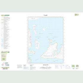 Canadian Topo Map - Qukiavik Island - Map 016M05