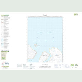 Canadian Topo Map - Qurlurtuq Island - Map 016M06