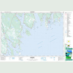 Canadian Topo Map - Lockeport - Map 020P11