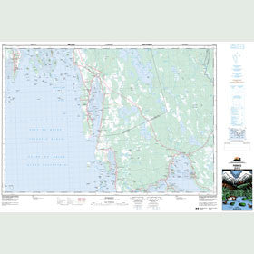 Canadian Topo Map - Pubnico - Map 020P12