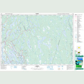 Canadian Topo Map - Tusket - Map 020P13