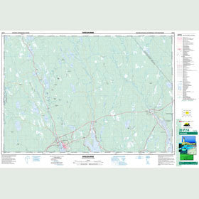 Canadian Topo Map - Shelburne - Map 020P14
