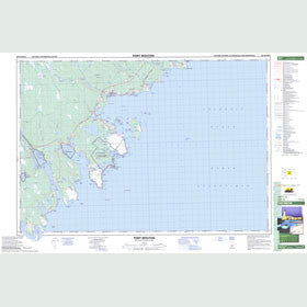 Canadian Topo Map - Port Mouton - Map 020P15