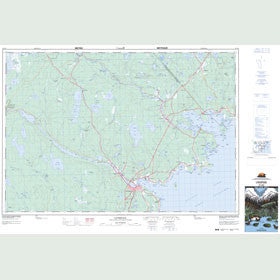 Canadian Topo Map - Liverpool - Map 021A02