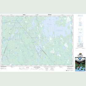 Canadian Topo Map - Lake Rossignol - Map 021A03
