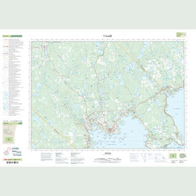 Canadian Topo Map - Chester - Map 021A09