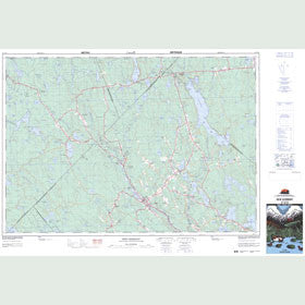 Canadian Topo Map - New Germany - Map 021A10