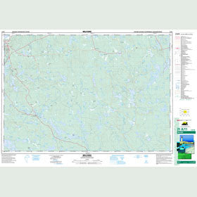 Canadian Topo Map - Milford - Map 021A11