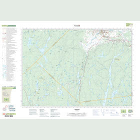 Canadian Topo Map - Windsor - Map 021A16