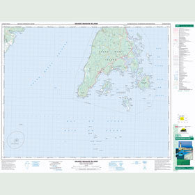 Canadian Topo Map - Grand Manan Island - Map 021B10