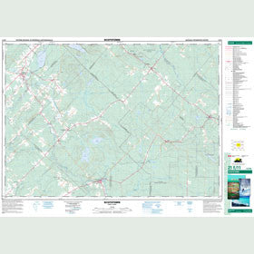 Canadian Topo Map - Scotstown - Map 021E11